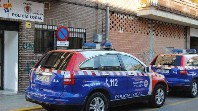 Policía local San Martín de la Vega coche