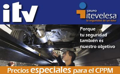 Grupo itevelesa itv cppm for Oficina trafico alcorcon