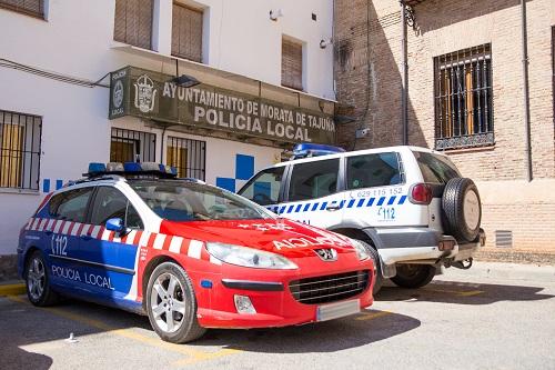 Policía local MOrata de TAjuña