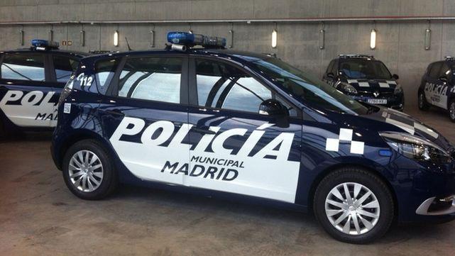 Policía Municipal Madrid coche