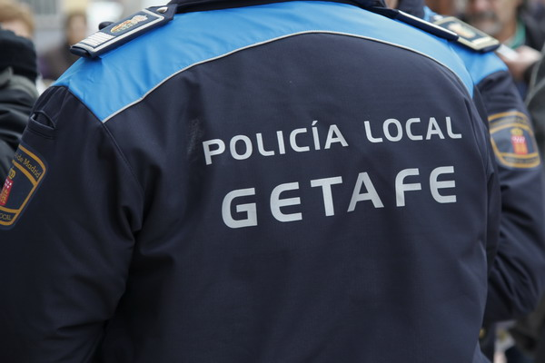 Policía local getafe