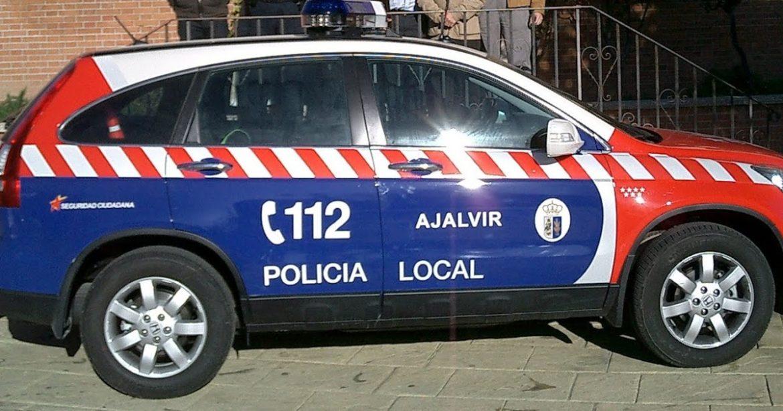 Policía local Ajalvir coche