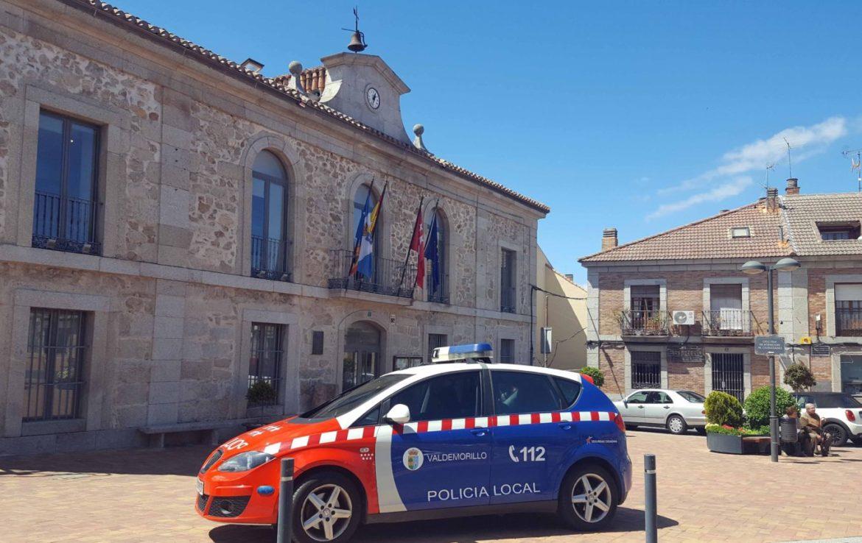 Policía local Valdemorillo coche