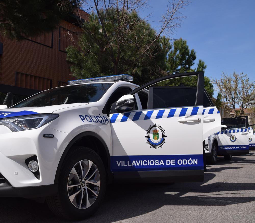 Policía local Villaviciosa de odón