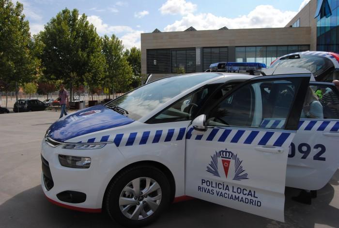 Policía local Rivas-Vaciamadrid coche