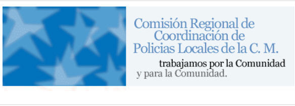 Comisión Regional Coordinación Policías locales Comunidad Madrid