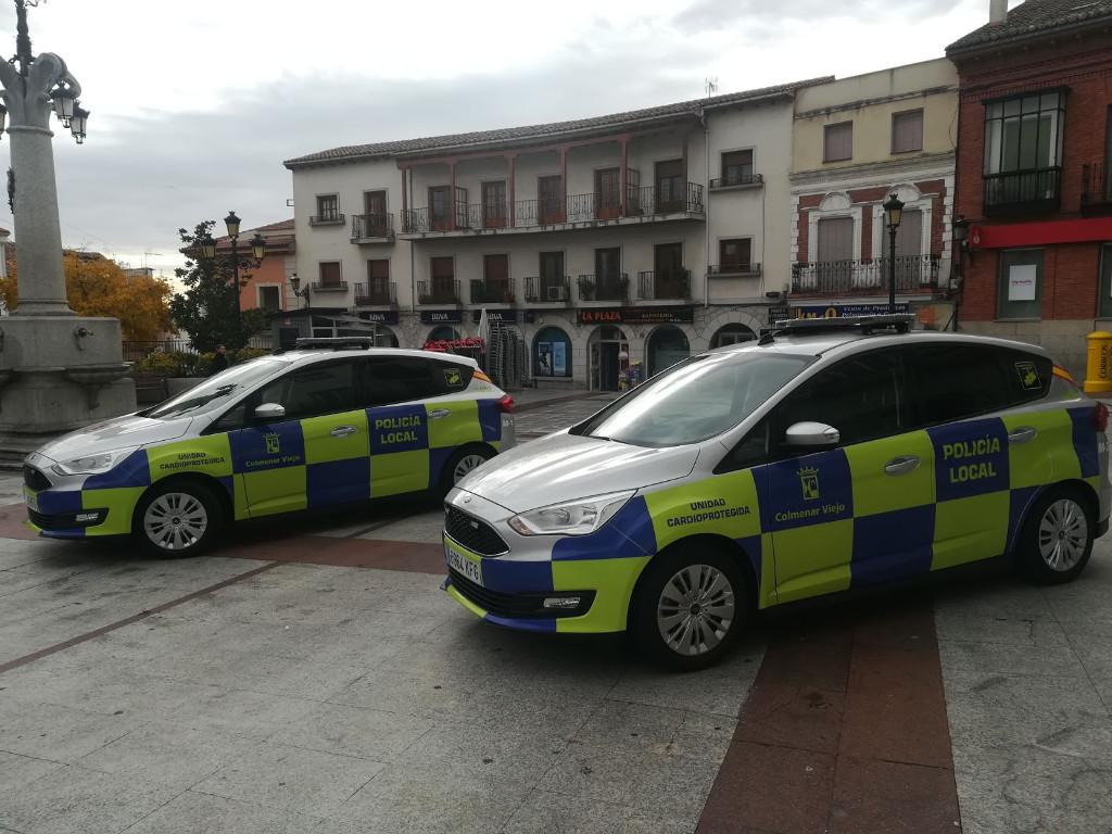 Policía local Colmenar Viejo