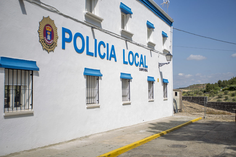 Policía local Campo Real Unidad