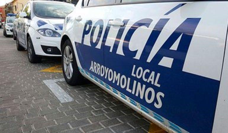 Policía local Arroyomolinos coche