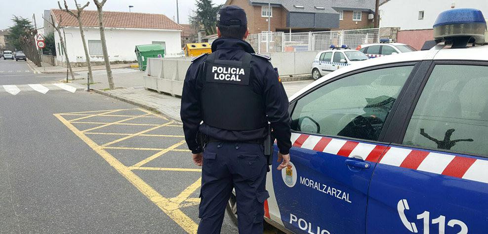 Policía local Moralzarzal