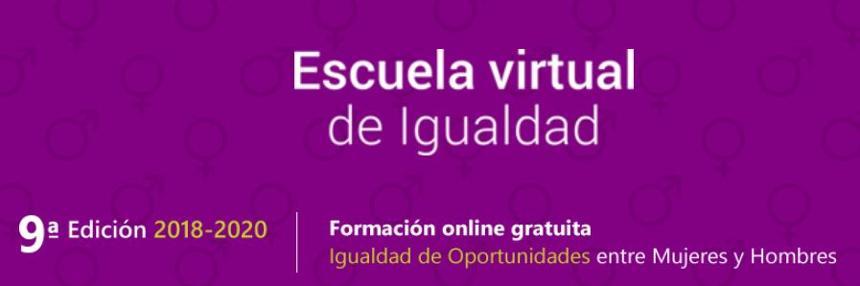 9º edicion curso igualdad escuela virtual de igualdad