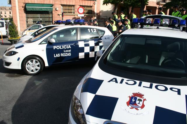 Policía local las rozas coche