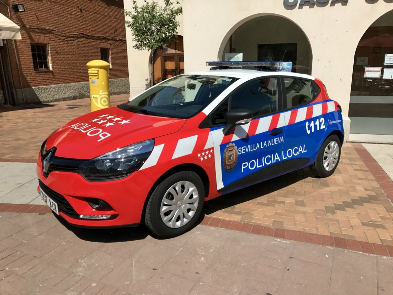 Policía local Sevilla la Nueva
