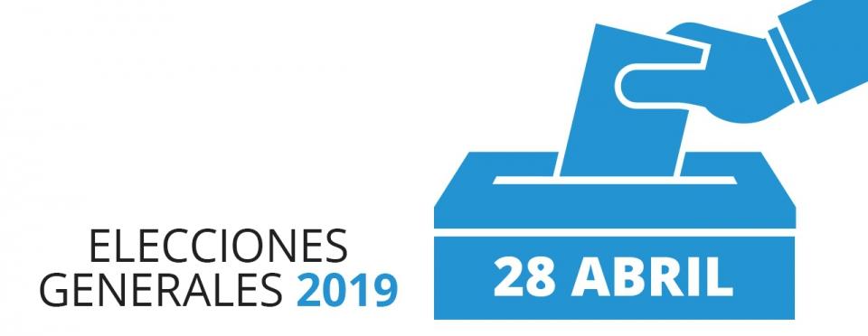 Resultado de imagen de elecciones al Congreso de los Diputados y al Senado 2019