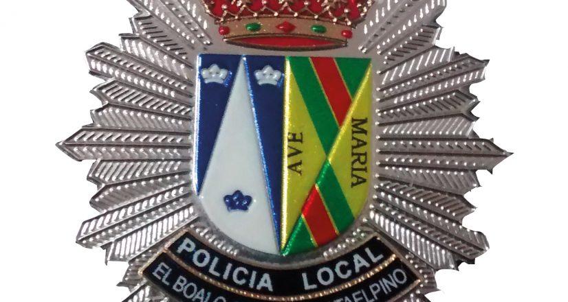 Policia local El boalo escudo