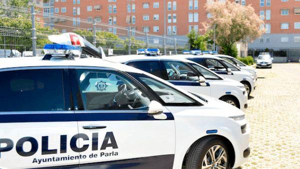 Policía local Parla coche
