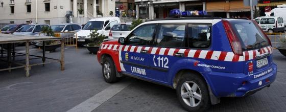 Policía local El Molar coche