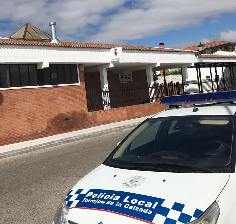 Policía local Torrejón de la Calzada