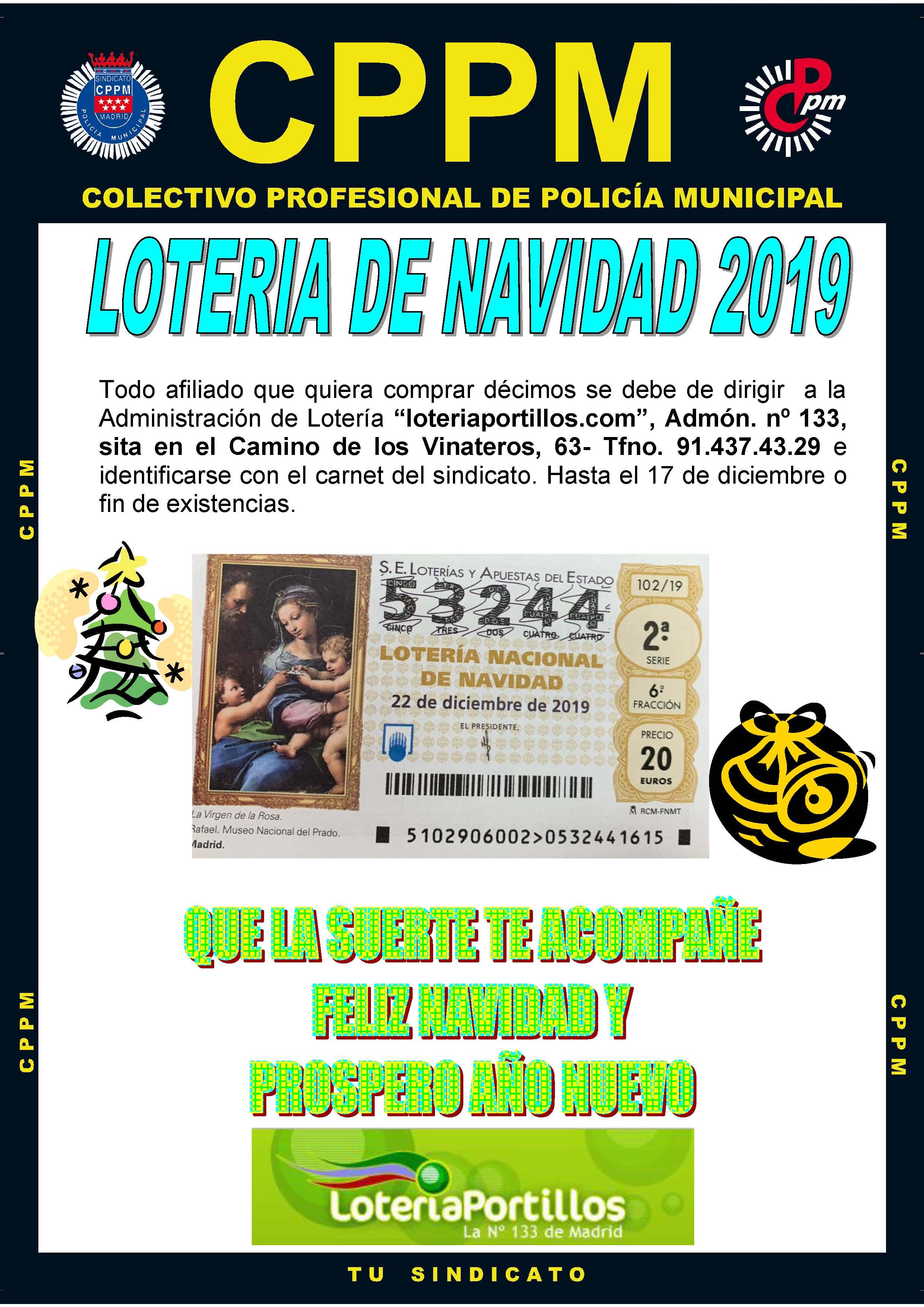 Imagenes Loteria Navidad.Loteria Navidad 2019 Y Si Toca El Nuestro Cppm