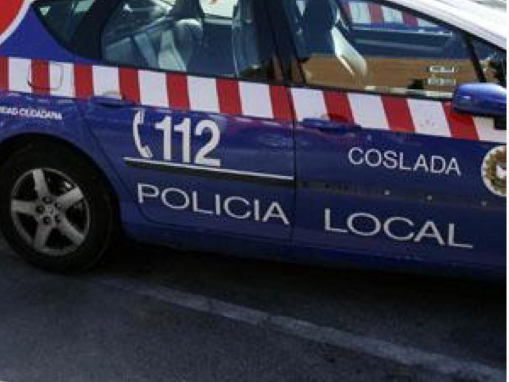 Policía local coslada coche