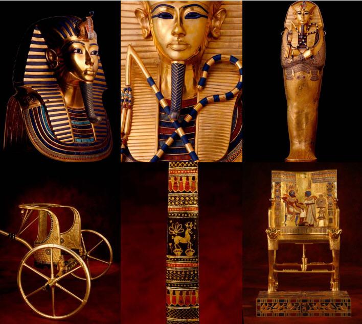 Tutankhamon la tumba y sus tesoros exposición