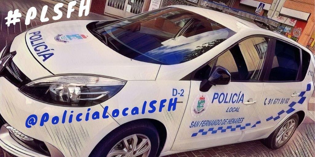 Policía local San Fernando de Henares