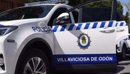 Coche policía local Villaviciosa de odón
