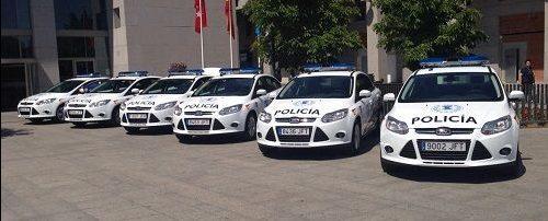 Policía local Leganés coches