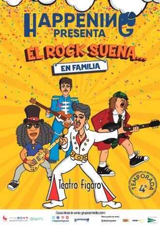 Rock suena en familia teatro