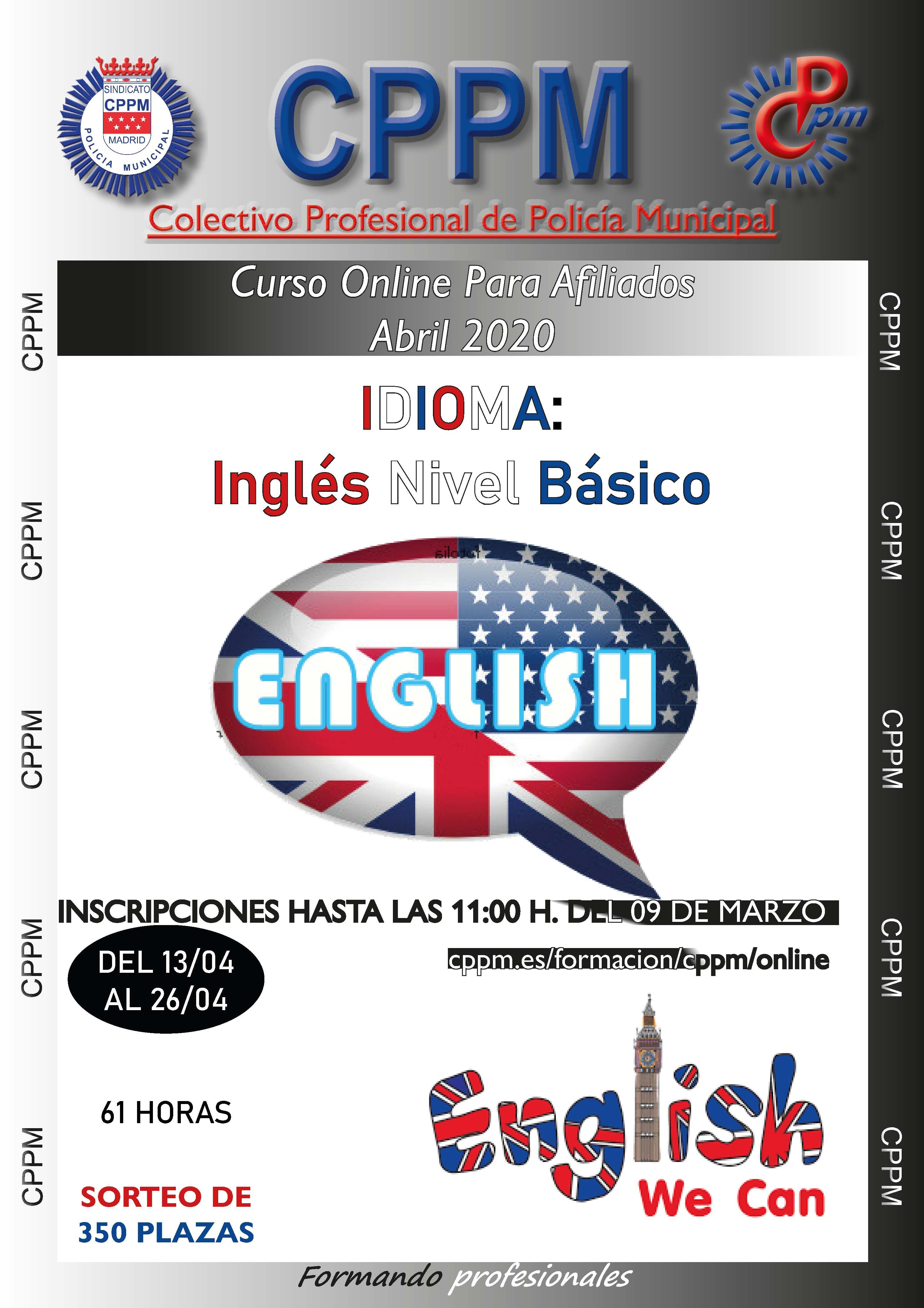 Inglés nivel básico Sindicato CPPM