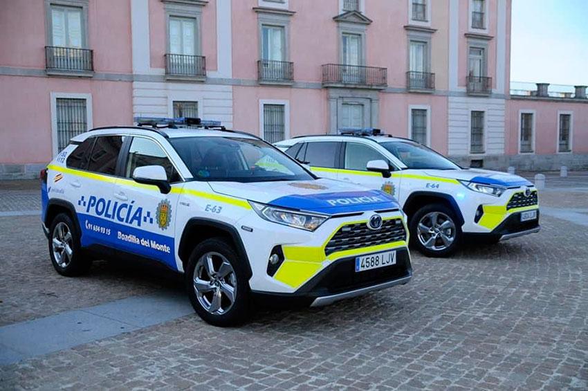 Policía local Boadilla del Monte