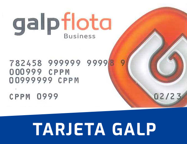 Tarjeta GALP flota Business CPPM
