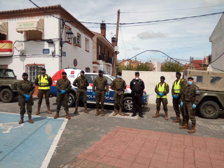 Agradecimiento Brigada Acorazada Guadarrama