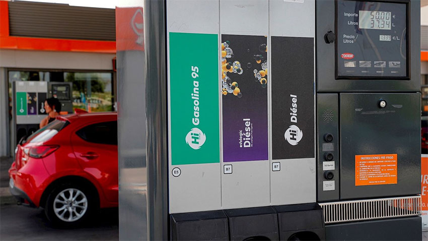 Gasolinera Comunidad Madrid