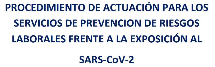 Personal alto riesgo COVID-19