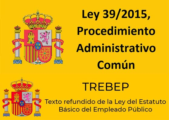 Ley 39/2015 y TREBEP online