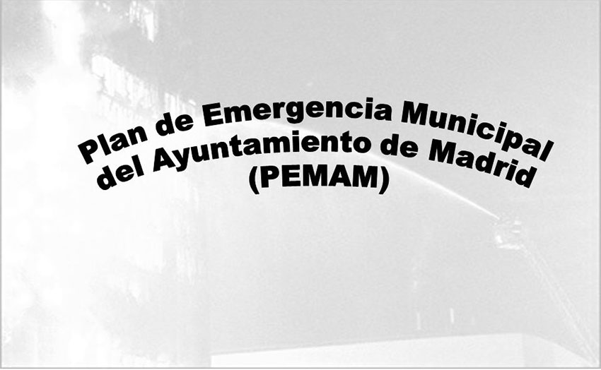 Plan Emergencia Municipal Ayuntamiento Madrid
