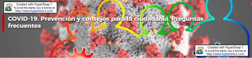 Prevención y consejos para la ciudadanía Comunidad Madrid