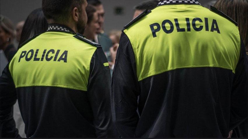 Policía local Majadahonda COVID-19