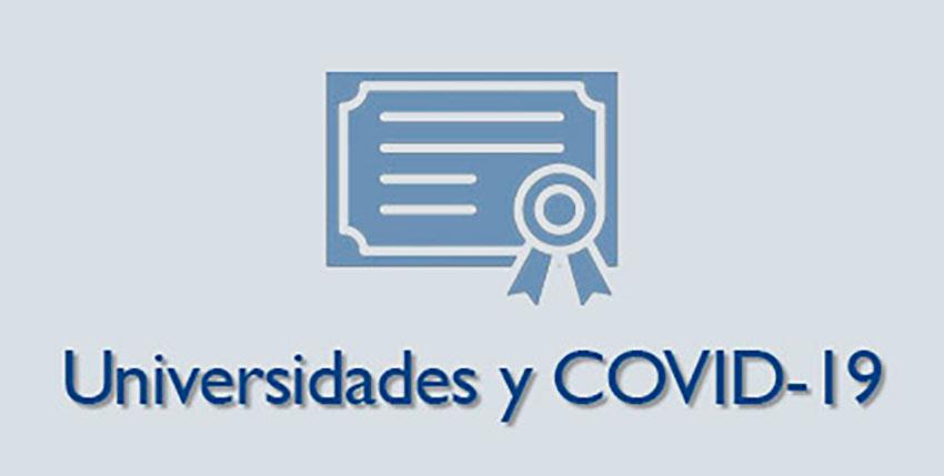 Universidades y COVID-19