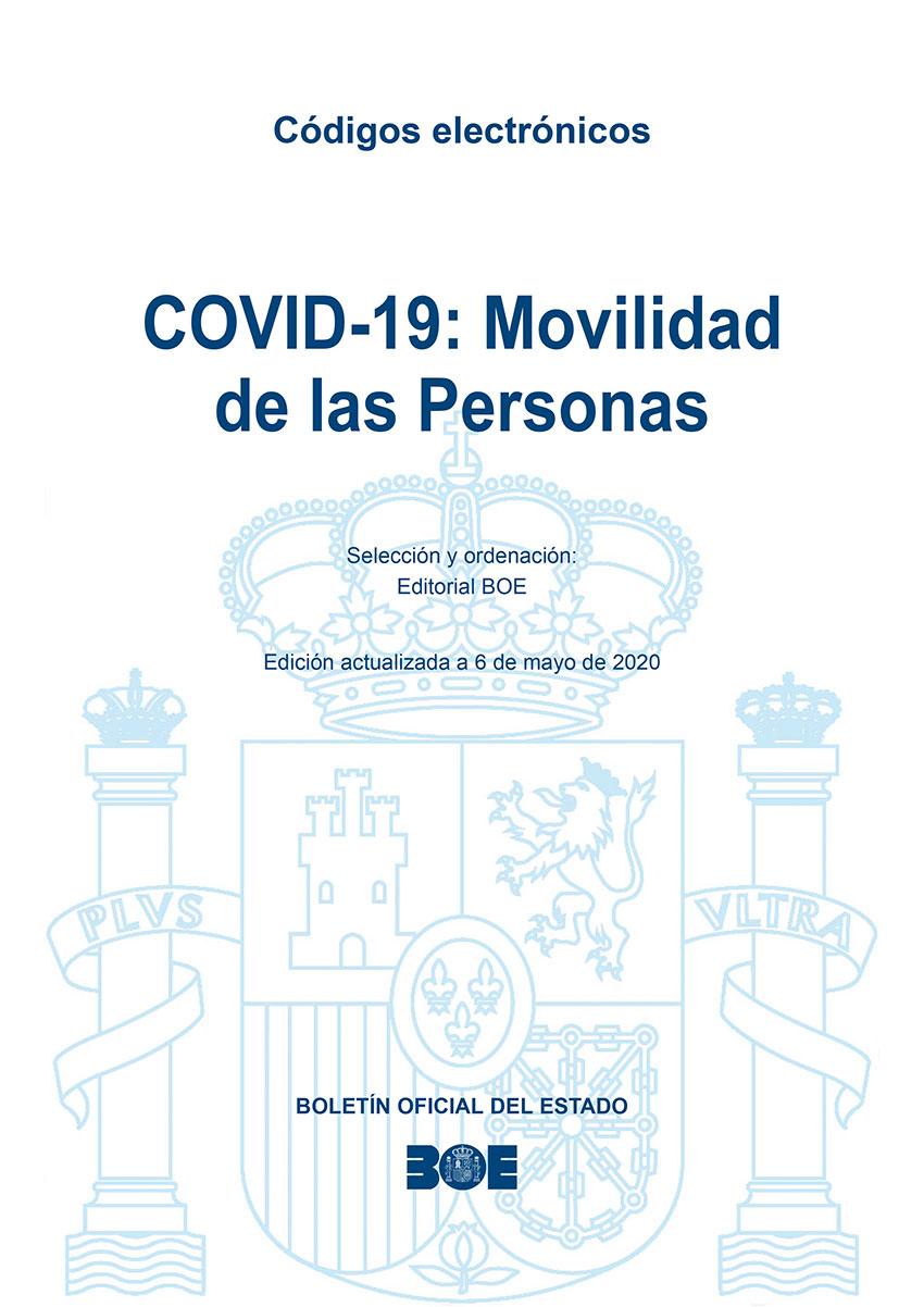 Código Ellectrónico BOE Movilidad Personas COVID-19