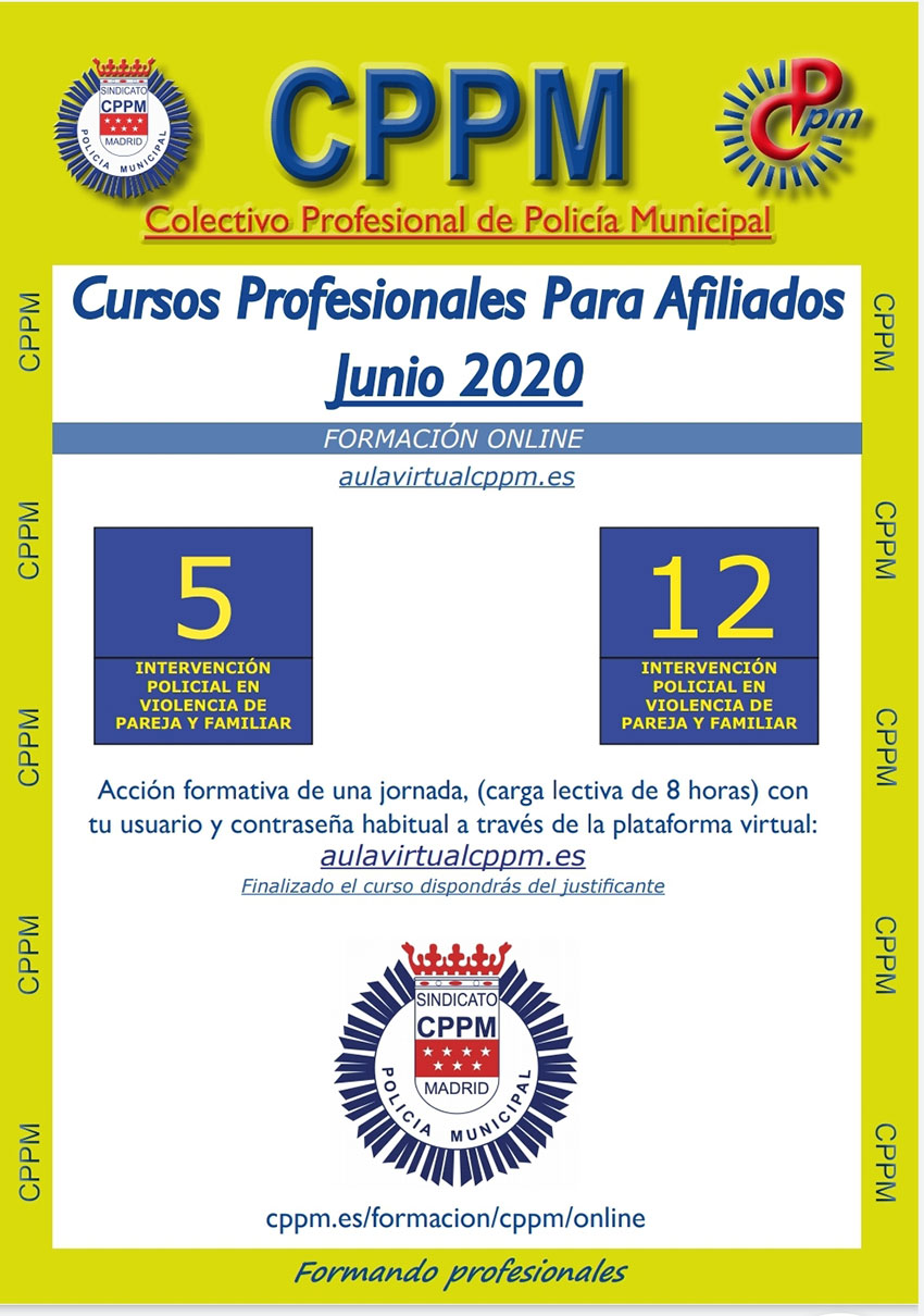 Cursos online CPPM junio 2020