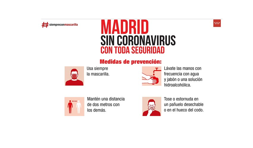 Recomendaciones salud pública Fase 1 Comunidad Madrid