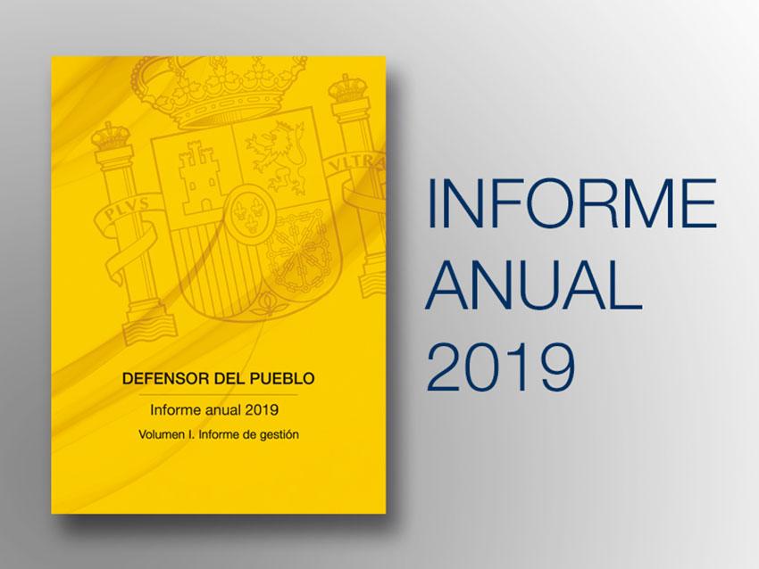 Informe Defensor Pueblo 2019