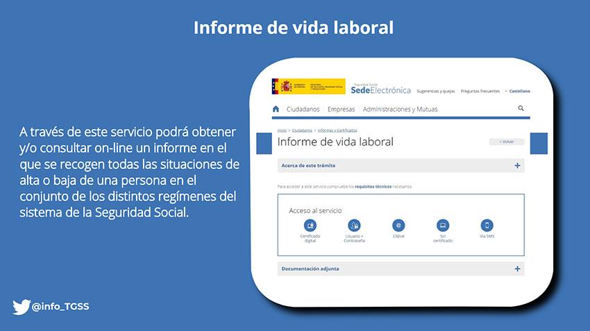 Informe Vida Laboral Seguridad Social