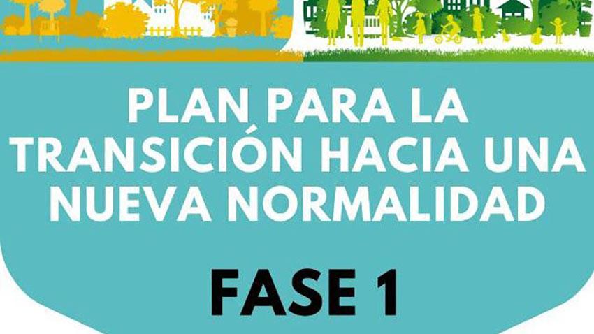 Plan Transición nueva normalidad Fase 1