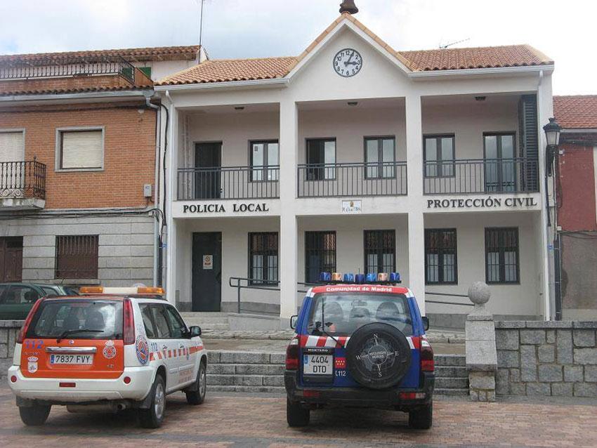 Policía local Navas del Rey