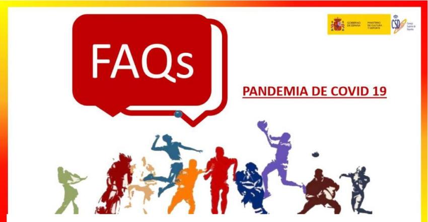 Preguntas frecuentes Deporte COVID-19