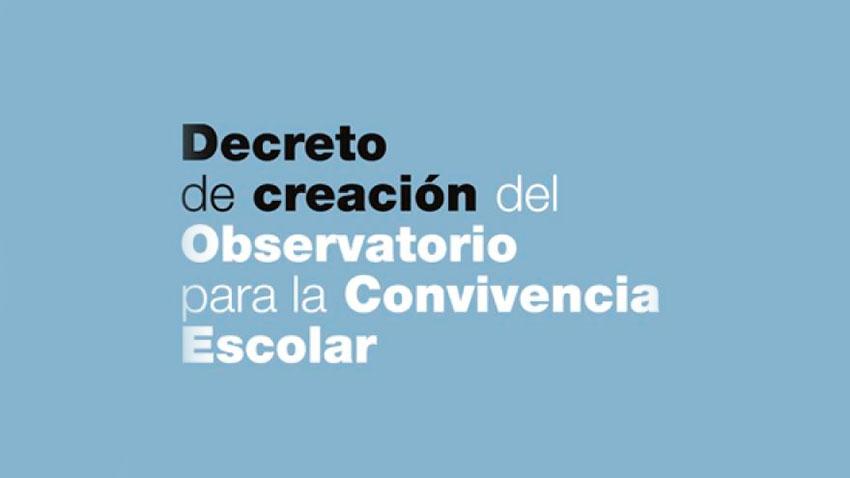 Observatorio para la convivencia escolar Comunidad Madrid