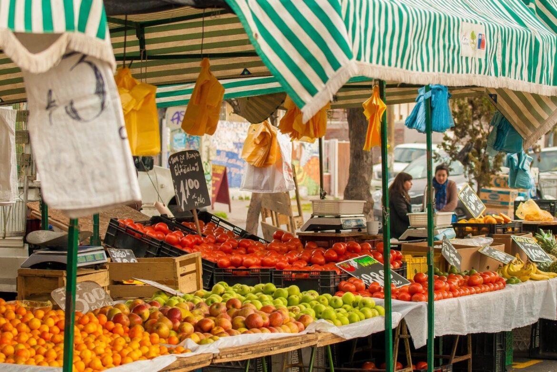 Mercado venta no sedentaria